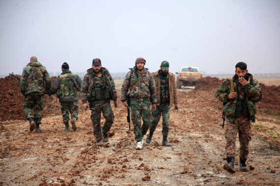 assads troops in syria