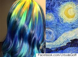 Fine Art Hair Is Real, And It's A Masterpiece