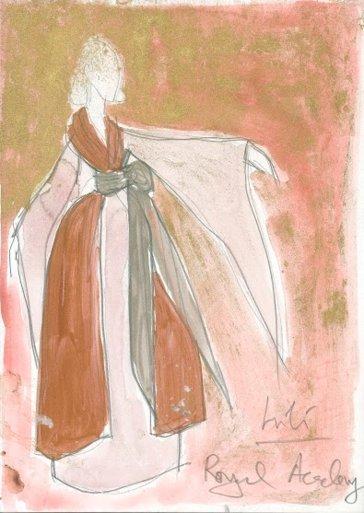Boceto de Lili