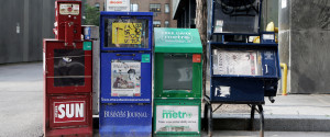 NEWSPAPER BOX