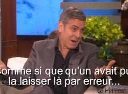 Clooney raconte son épique demande en mariage (VIDÉO)