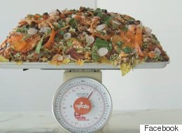 These 66-Pound Nachos Are The Ultimate Super Bowl Snack