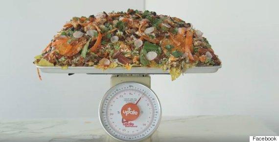 66 pound nachos