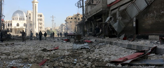 THE BOMBING ON SYRIA
