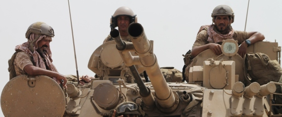ARAB COALITION FORCES IN YEMEN