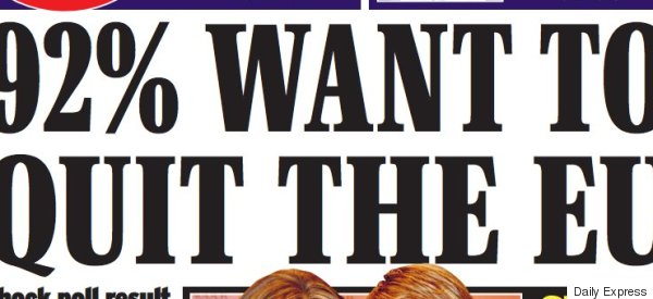 Daily Express Lampooned Over 'Voodoo Poll' That Even Ukip Couldn't Endorse