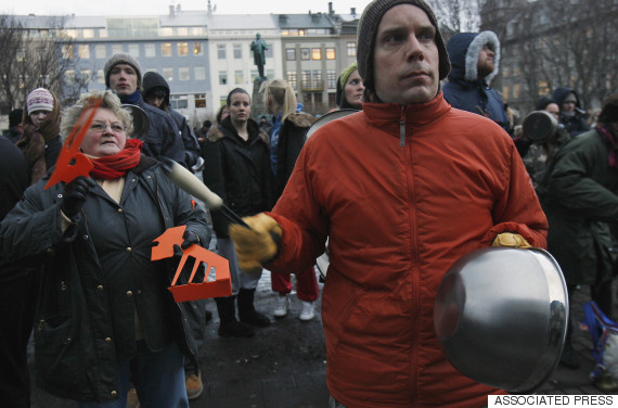 iceland 2009 protest