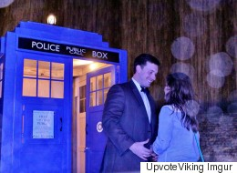 Man Painstakingly Builds Tardis To Propose To Girlfriend Who Loves Doctor Who