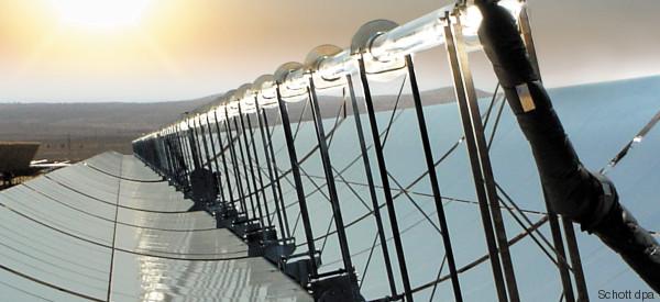 Erster Teil des weltgrößten Solarkraftwerkes in Marokko eröffnet