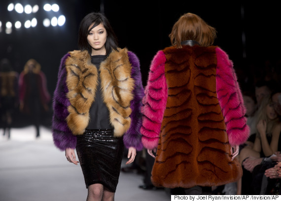 fur catwalk