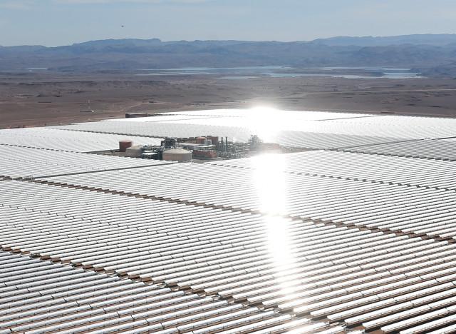 Ce qui deviendra la plus grande centrale solaire du monde a été ...