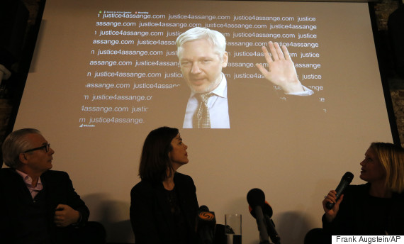 Images Julian Assange, WikiLeaks Founder, Condemns Philip Hammond