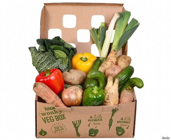 wonky veg box
