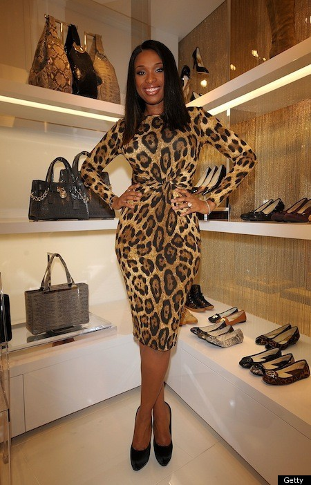 Jennifer Hudson Looks Lovely In Leopard And So Can You