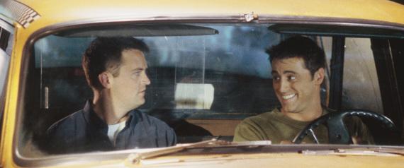 MATT LEBLANC FRIENDS CAR
