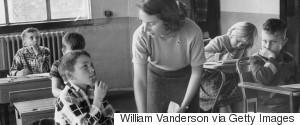 TEACHER 1950S