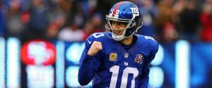 Eli Manning Celebrate