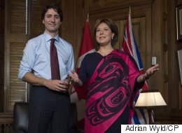 B.C. Is Canada's Only 'Bright Spot,' Clark Tells Trudeau