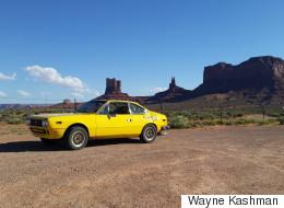 Dans une vieille Lancia 1976, il a traversé l'Amérique du Nord (PHOTOS)