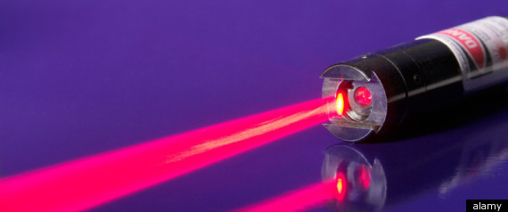 LASER AIMED AT PLANE