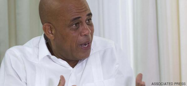 Discours d'adieu de Michel Martelly