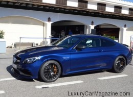 Essai routier Mercedes-Benz C 63 AMG Coupe 2017 (PHOTOS)