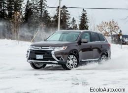 Conduite préventive Mitsubishi : une traction intégrale (PHOTOS)