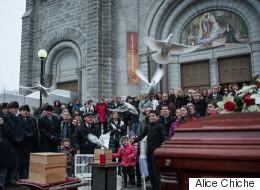 Funérailles de la famille Carrier : L'événement en PHOTOS