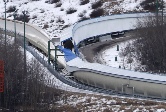 canada olympic park calgary bobsled deaths