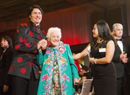 Trudeau Brought 'Hurricane Hazel' As His Date To Chinese New Year