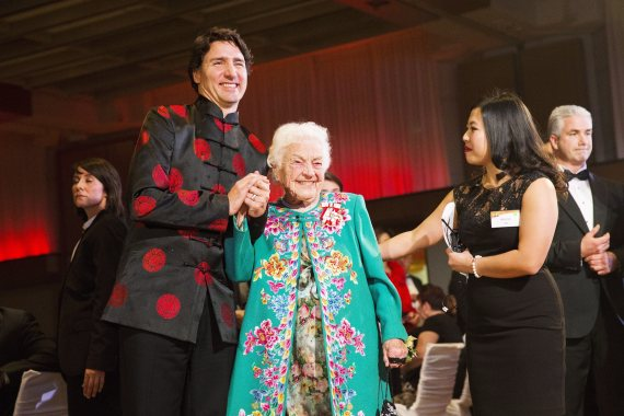 trudeau chinese new year hazel mccallion
