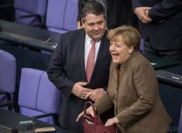 Geheime Aufnahmen aufgetaucht: So sieht das gemeinsame Kind von Angela Merkel und Sigmar Gabriel aus