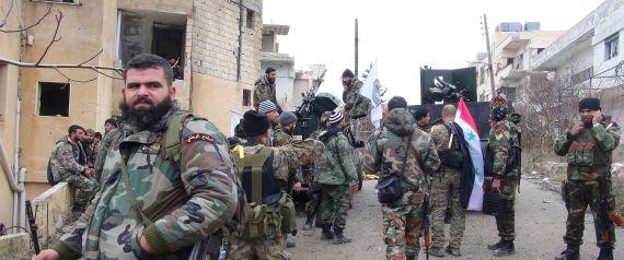 SYRIAN REGIME ARMY