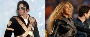 MICHAEL JACKSON BEYONCE SUPER BOWL