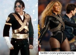 Beyoncé Pays Tribute To Michael Jackson At Super Bowl