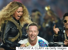 Beyonce Upstages Coldplay At Super Bowl 50 Halftime Show