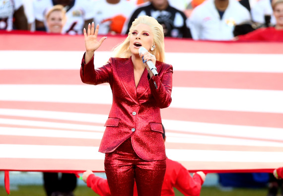 lady gaga super bowl hymne video