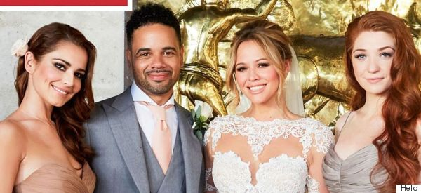 First Look! Kimberley Walsh Reveals Wedding Snaps