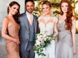 Kimberley Walsh Reveals Stunning Wedding And Bridesmaid Dresses