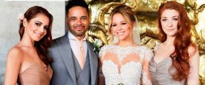 KIMBERLEY WALSH WEDDING DRESS