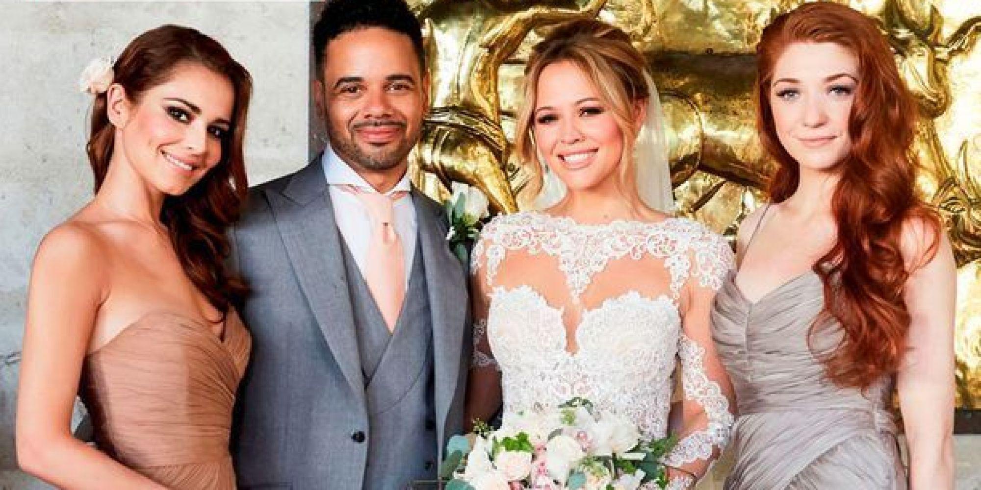 kimberley walsh wedding dress and designer revealed see
