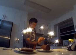This Is Why You Should NEVER Use Sparklers As Birthday Candles
