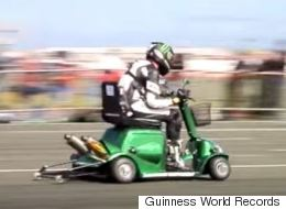 A Mobility Scooter Just Went 107mph