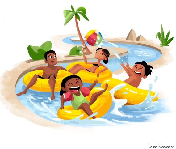 family lazy river