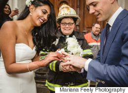 Toronto Bride Gets Help Of Firefighter Chaplain After Tragic Crane Collapse