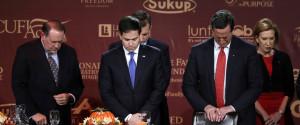 Marco Rubio Rick Santorum