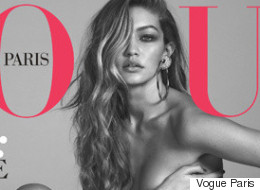 Gigi Hadid Goes Nude On The Cover Of Vogue Paris