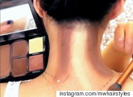 Neck Contouring Is Very Much A Real Thing Now