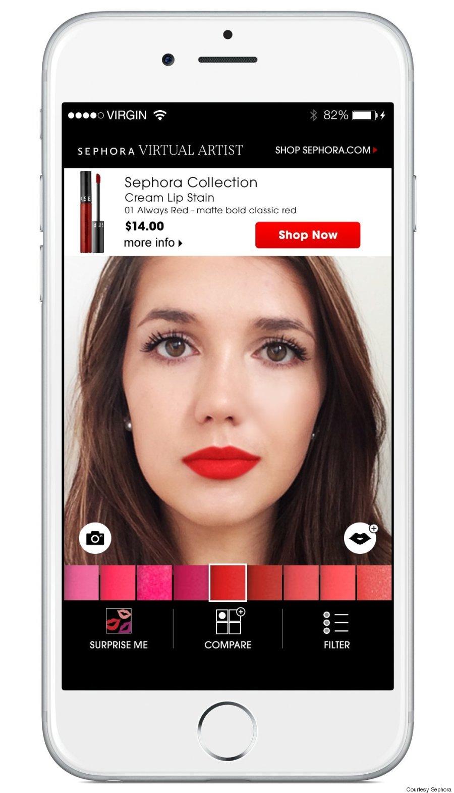 Sephora free makeup application - Verizon wireless iphone ...