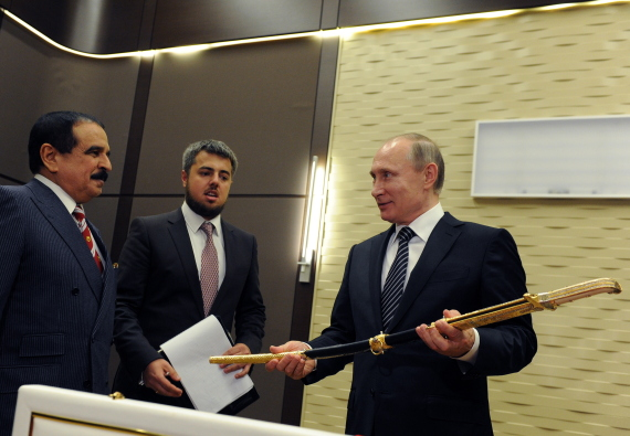 king hamad bin khalifa and vladimir putin